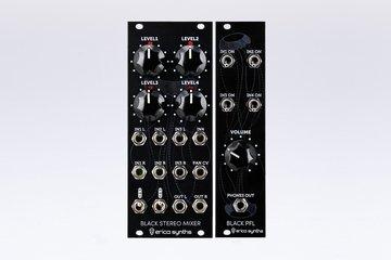 Black Stereo Mixer & PFL Expander bundle